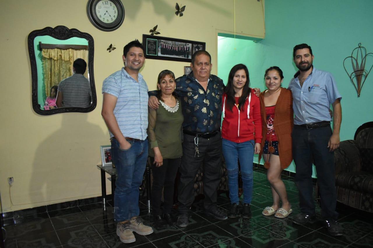 Juan Cruz celebra su jubilación