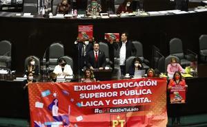 Aprueban los diputados la Ley General de Educación Superior