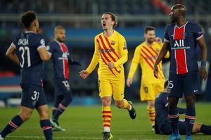 Navas salva al PSG ante un gran Barcelona en el descanso