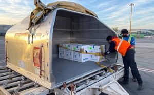 Reciben en Sinaloa embarque de vacunas para reenviarlas a Chihuahua