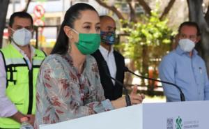 Sheinbaum reitera que no se usó gas lacrimógeno en marcha del 8M