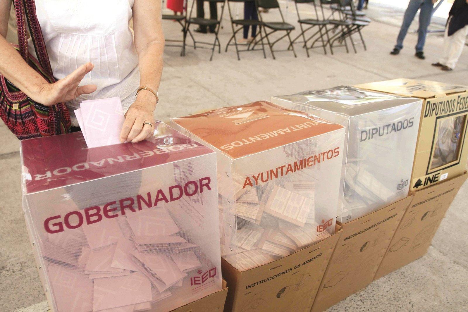 IEEQ: Cada 4 horas se hará un registro de candidatura a gobernador