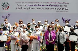 Reconocimiento del Senado a enfermeras por pandemia
