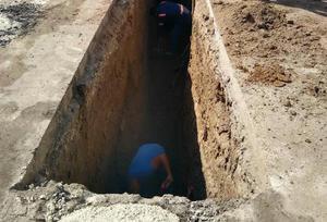 Brotan aguas negras en colonia Praderas Norte