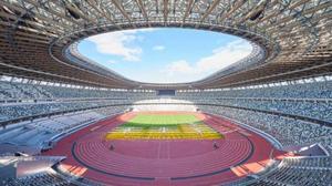 Estadio Olímpico, listo para el deporte