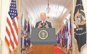 Biden quiere que el 4 de julio sea la independencia del virus