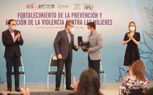Delitos de género no quedarán impunes en Coahuila: Riquelme