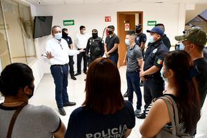 Ascienden 13 cadetes a las filas de Seguridad Pública en Monclova