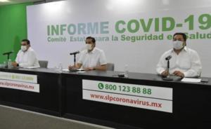 Suman 4 mil y 58 mil contagios de Covid en San Luis Potosí