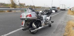 'Mandan a volar' a motociclista en la carretera 57 en Monclova