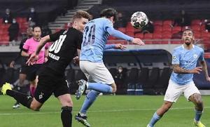 Manchester City 2 Monchengladbach 0 al medio tiempo