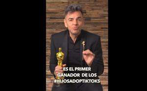 Eugenio Derbez, por fin revela a su primer hijo adopTikTok