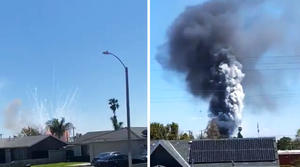 Reportan gran explosión en California, Estados Unidos