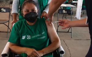Realizan simulacro de vacunación en Venustiano Carranza