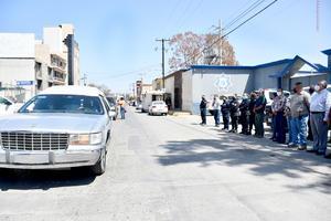 Honran con cortejo fúnebre lamemoria de un policía ejemplar