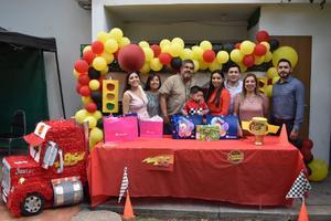 Javier celebra 4 años de vida en Monclova
