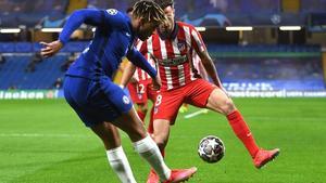 1-0 Chelsea está derrotando al Atlético de Madrid