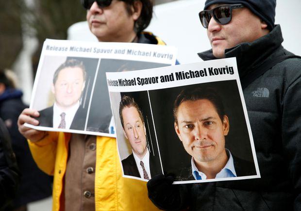 China juzgará en los próximos días a dos canadienses detenidos en 2018