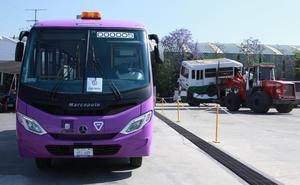 Semovi presenta proyecto para chatarrizar microbuses viejos en CDMX