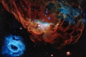 Captan las primeras imágenes de la red cósmica, donde nacen las galaxias