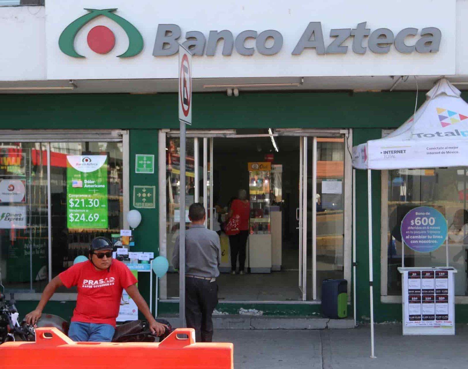 Puede haber más afectados tras robo de ahorros en Banco Azteca, dicen