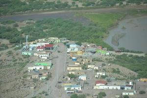 Cerrado al turismo en Boquillas del Carmen