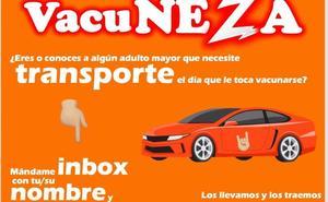 Juan Zepeda ofrece transporte a adultos mayores para recibir vacuna