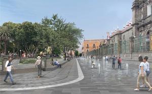 Inician remodelación del Zócalo de Puebla; costará 60 mdp