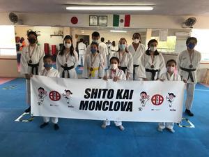 Sobresalen karatecas de Shito Kai Monclova