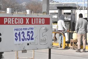 Sigue al alza el precio del gas, llega a 13.52 el litro en la Región Centro