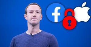 Mark Zuckerberg critica actualización de privacidad de Apple