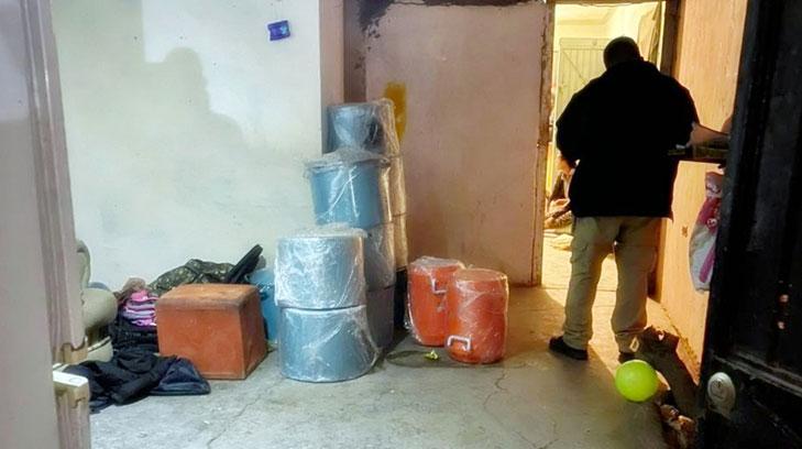 Desmantelan laboratorio de metanfetamina en Sonora