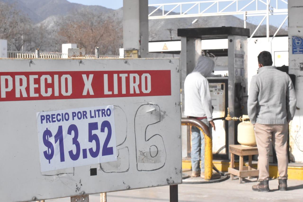 Sigue al alza el precio delgas en Monclova; llega a 13.52 el litro
