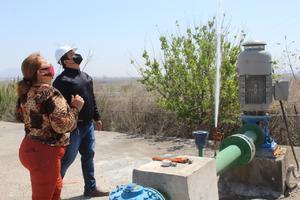 Entregan obra de rebombeo de agua en Castaños