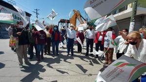 Apresuran arranque de  obra por veda electoral en Frontera