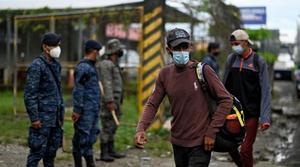 México despliega un centenar de agentes migratorios en frontera con Guatemala