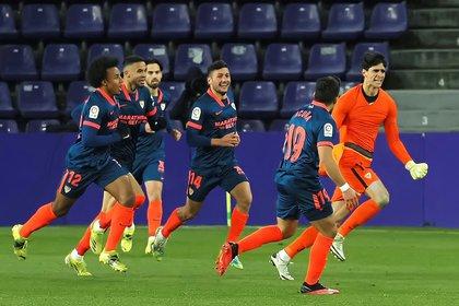 1-1: Bono da un punto al Sevilla en el último suspiro
