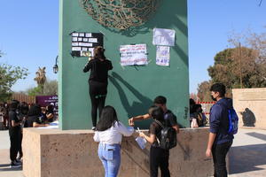 Protestan por acoso sexual, ahora en la Prepa 24 COBAC en Monclova