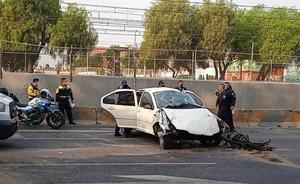 Choque automovilístico deja una persona muerta