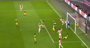 VIDEO: Edson Álvarez anota en goleada del Ajax