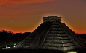 Sin público, así se vio el equinoccio de primavera desde Chichén Itzá