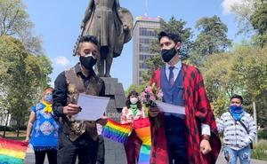 Jesús y Danny logran casarse en Toluca luego de ganar amparo