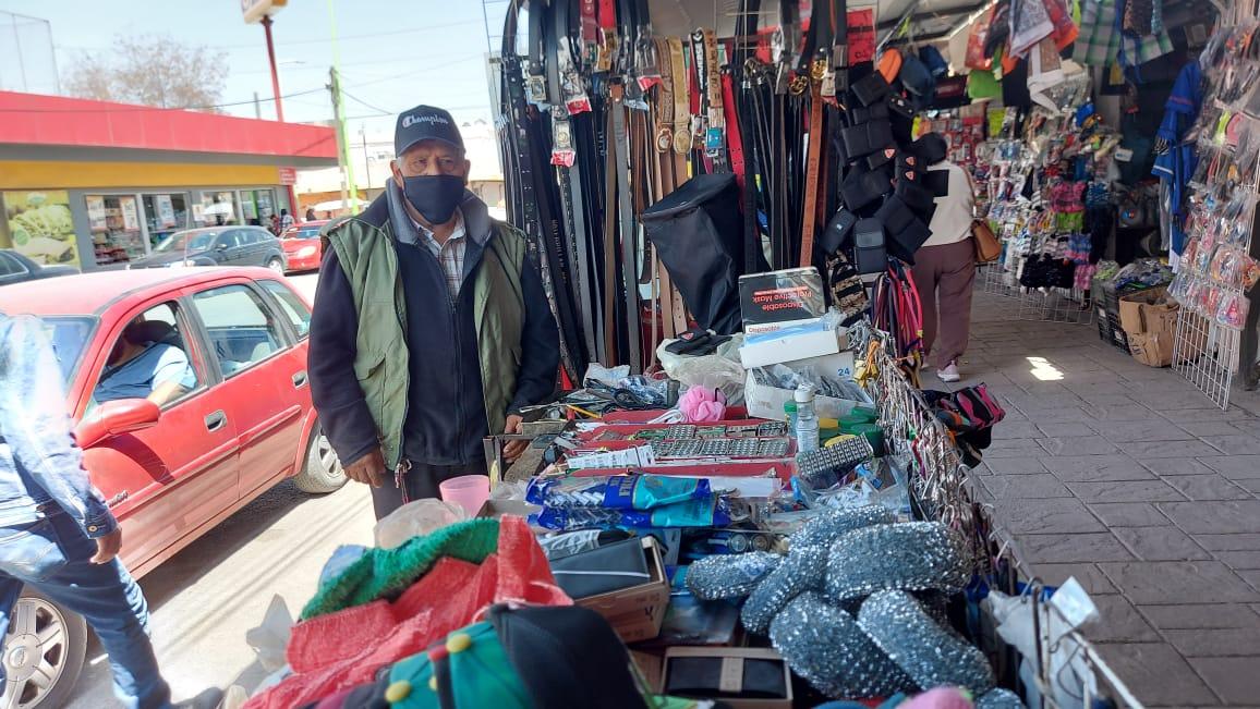 Don Pedro: 40 años sobreviviendo del comercio informal de Frontera