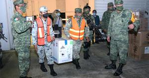 Fuerzas Armadas han trasladado 8.1 millones de vacunas contra COVID-19