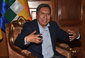 El nuevo embajador de Rusia presenta copias de Estilo al canciller de Bolivia