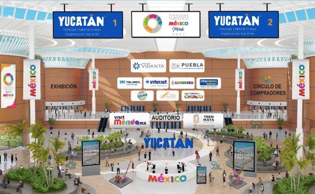 Alistan Tianguis Turístico digital en Mérida previo al presencial
