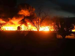 Intencional el incendioen patios deFerromex: PC