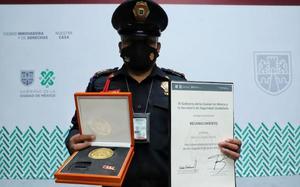 Galardonan a policías de la SSC y Fiscalía Capitalina por su labor