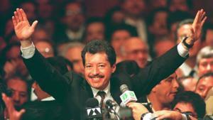 A 27 años de su asesinato recuerdan a Luis Donaldo Colosio