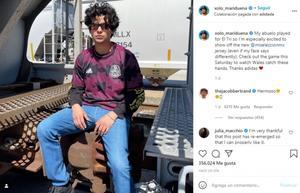 'Cobra Kai': Xolo Maridueña presume su amor por la Selección Mexicana